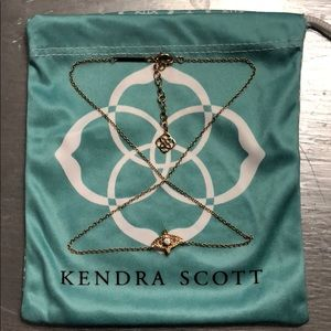 Kendra Scott Caleb Pendant Necklace In Gold